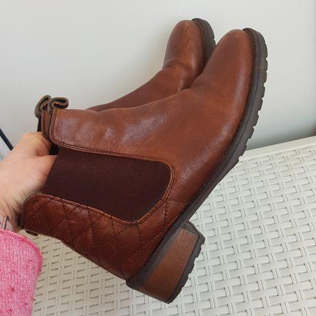 Кожаные ботинки полусапоги шкіряні чоботи челси