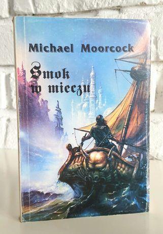 Książka Smok w mieczu Michael Moorcock Fantasy