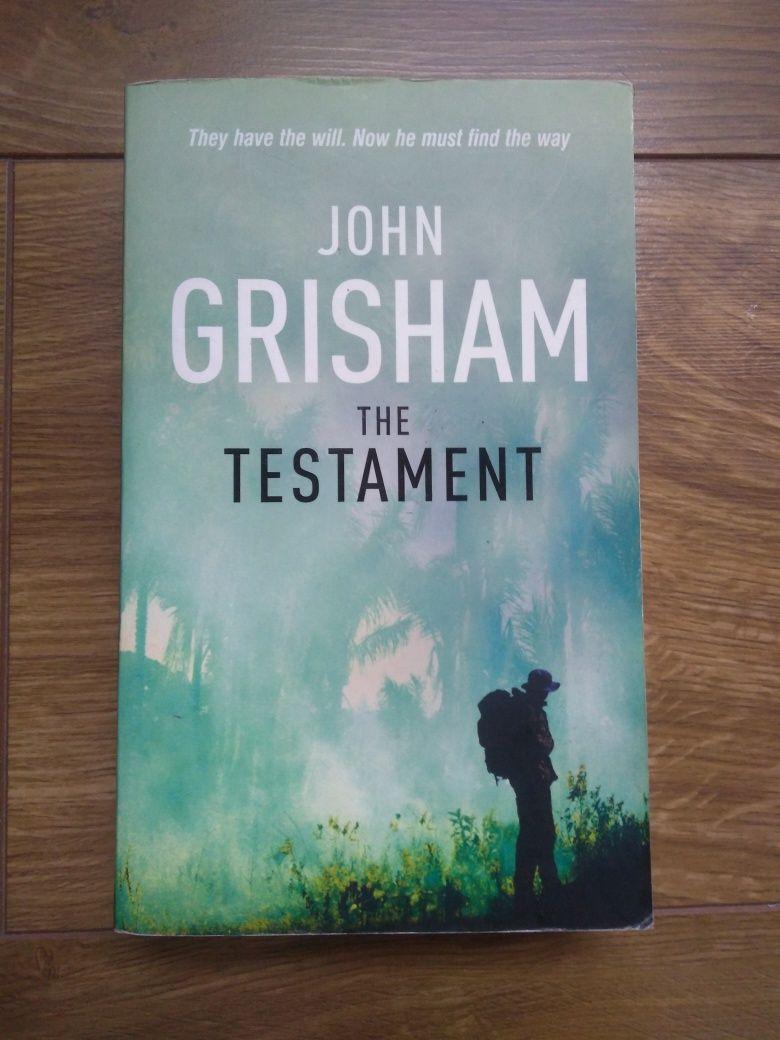 John Grisham. The testament. Anglojęzyczna.