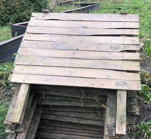 Поддоны для улиток 1м * 90 см толщина древесины 2 см