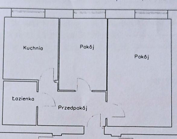 Mieszkanie M3 Chorzów Batory 38.70 m2