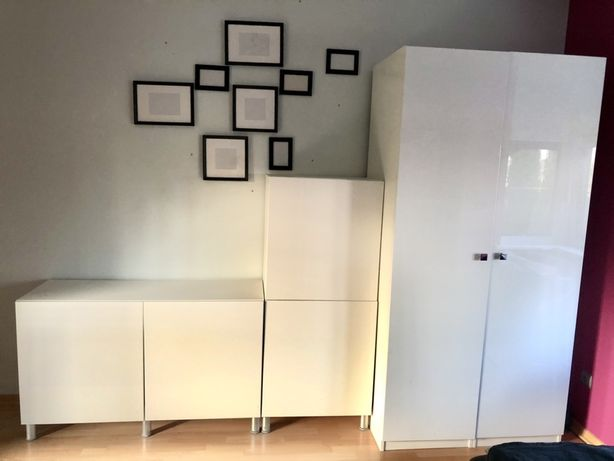 Meble do pokoju, szafa na ubrania IKEA Besta