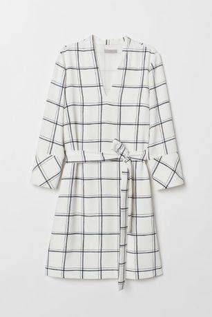 Платье с поясом h&m M/44-46