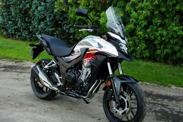 Honda cb500 X LED ABS 34kw kat a2 2019rok 4tys km jak nowy!!! RATY KRE