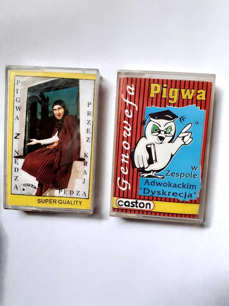 Kasety magnetofonowe Pigwa