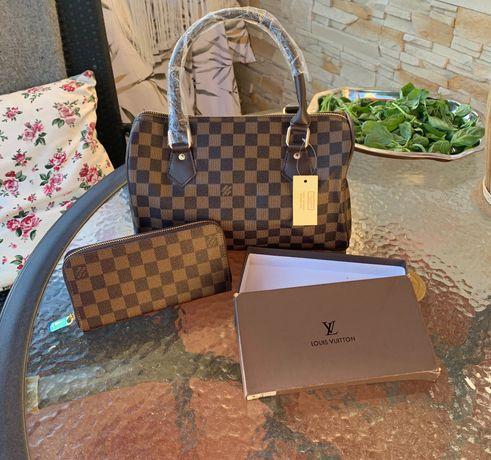 Torebka Louis Vuitton z portfelem