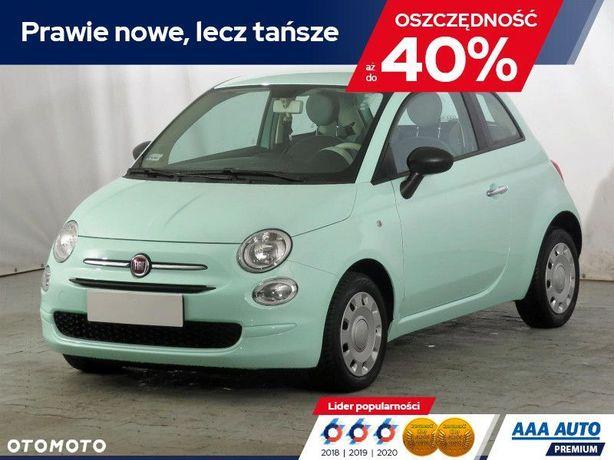Fiat 500 1.2, Salon Polska, Serwis ASO, Klima, Tempomat