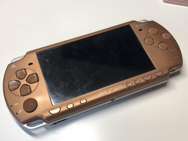 Konsola Sony PSP brązowa 2000 Japońska 2004 + bateria + gry
