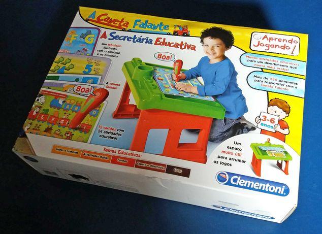 A Caneta Falante SECRETÁRIA Educativa CLEMENTONI - 3 aos 6 anos