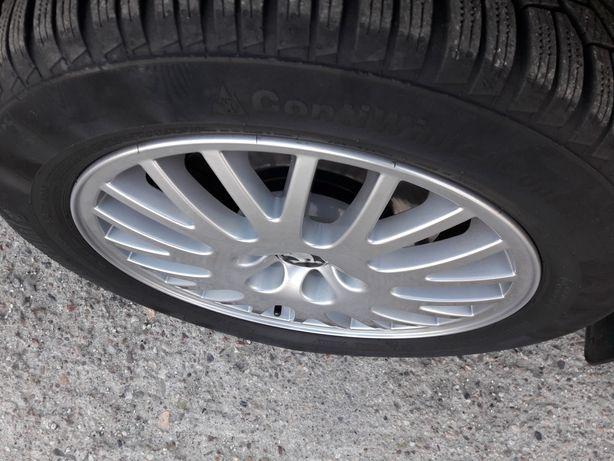 "Felgi aluminiowe Skoda Volkswagen Seat 5x100 16"" po renowacji"