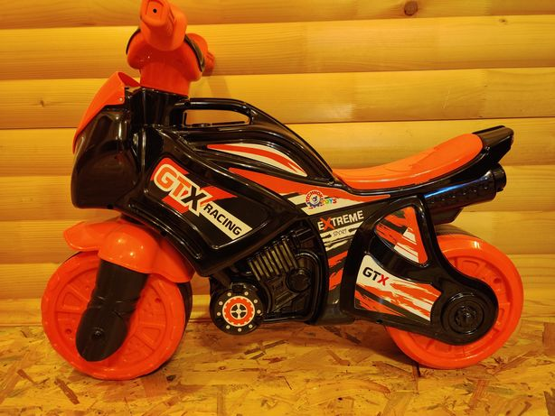 Мотоцикл дитячий (толокар, велобіг, каталка)