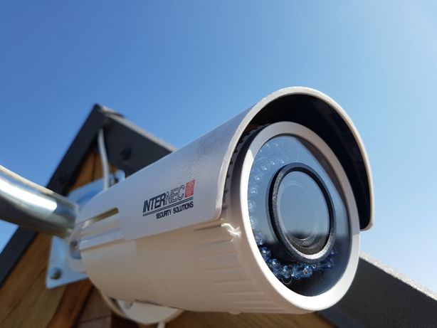Monitoring 4 kamery IP Full HD 2Mpx z montażem. Promocja!