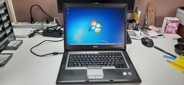 "Laptop DELL D830 15.4"" T8300 2.40 Win7 Nowa Bateria !"