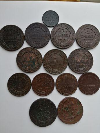 Монеты Николая 2, денга, СССР
