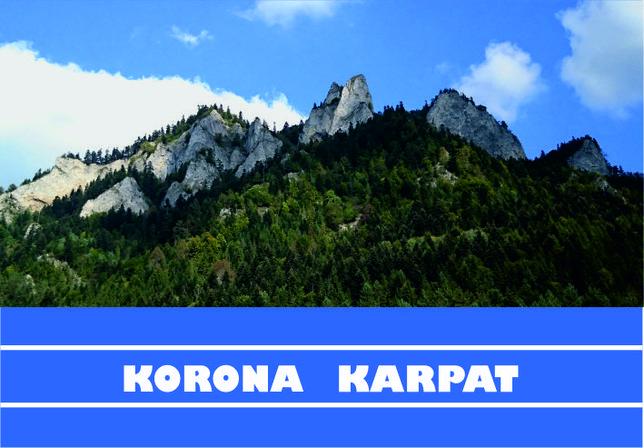 Książeczka turystyczna KORONA KARPAT