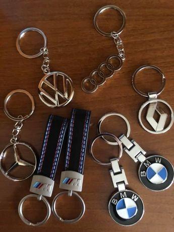 Porta chaves varias marcas novos
