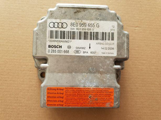 Sterownik Air Bag sensor Audi A4 B7 8E0.959.655 G