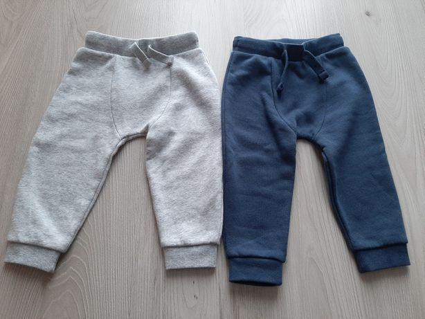 Ubranka dziecięce pajac, spodnie dresowe, czapka, body  80cm