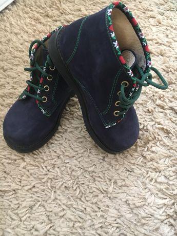 Замшевые ботинки демисезонные balducci