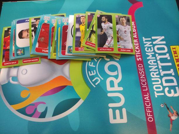Naklejki Panini euro 2020 Tournament edition Aktualizacja 28.07