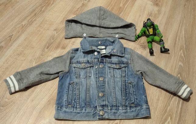 Джинсовая курточка (бомпер, пиджак, худи) H&M