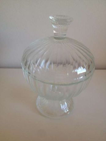 Bomboneira de vidro