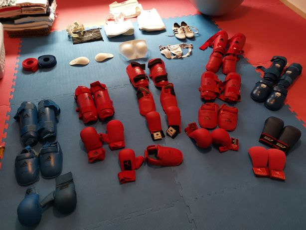 Equipamento de Karate