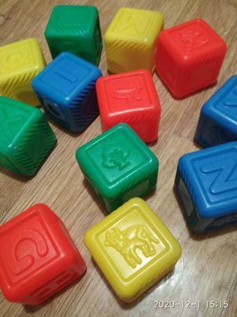 Кубики. Английский алфавит.