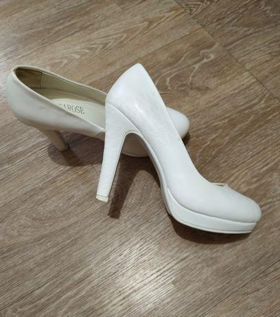 Свадебные туфли 38 размер весільні туфлі