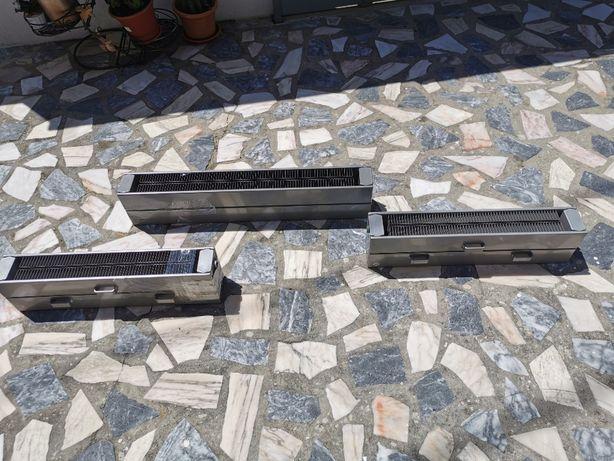 Radiadores de chão para instalação de aquecimento central