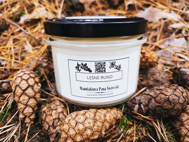 Naturalna świeca sojowa / Leśne runo