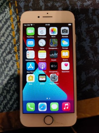 iPhone 7 32gb Gold + 3 чехла (без обмена)