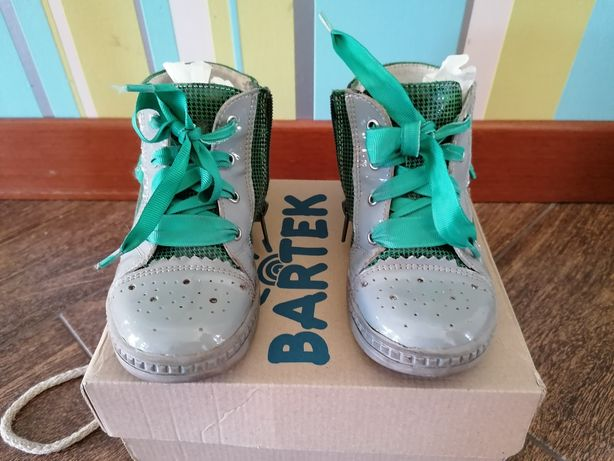Ботинки Bartek натуральная кожа