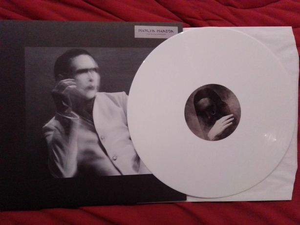 Marilyn Manson - the pale emperor, vinil branco