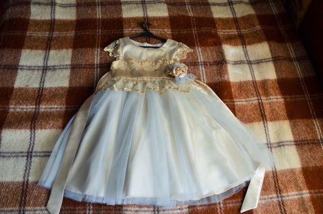 Платье детское (бальное)