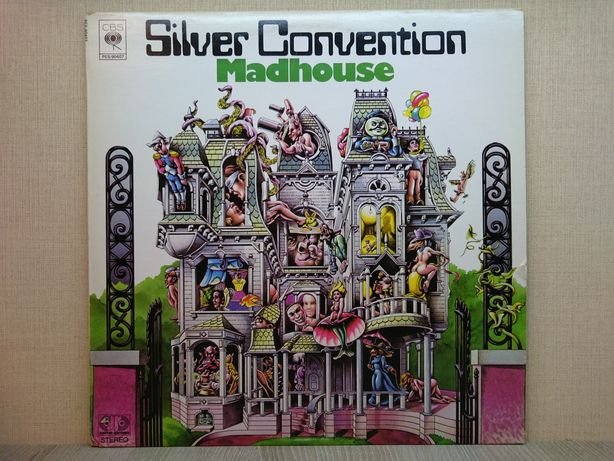 Виниловая пластинка Silver Convention - Madhouse 1976 Canada ОТЛИЧНАЯ!