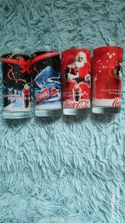 Szklanki Coca Cola 4 szt