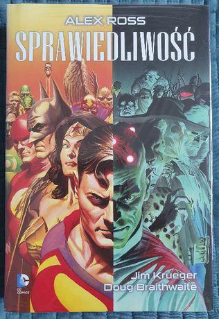 Sprawiedliwość (Mucha Comics, wydanie I, nowy w folii)