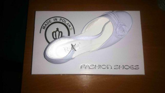 buty dziewczęce damskie białe rozmiar 36 nowe nie używane