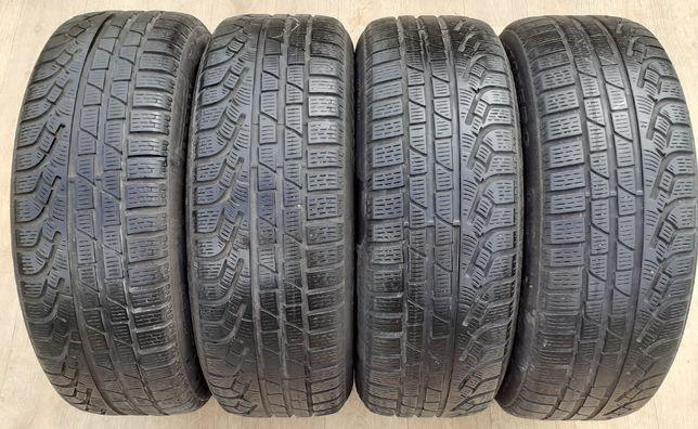 4шт 5мм 225/60/17 Pirelli Sottozero б у Р17 Шини зимові покришки зима