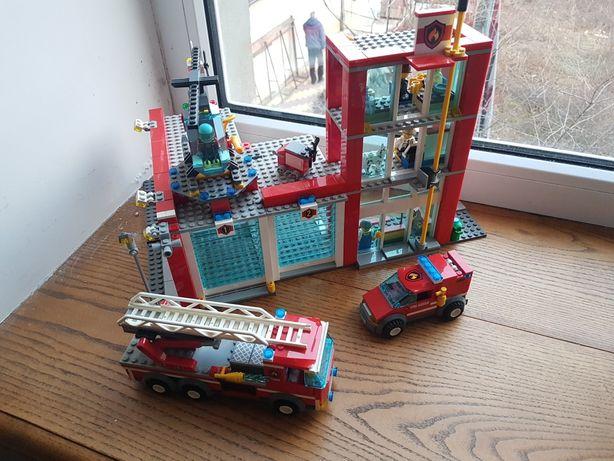 Lego city 60004 Пожарный участок Лего Сити