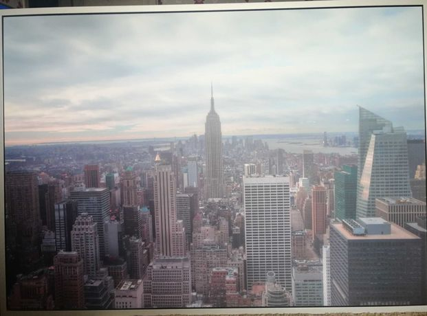 Sprzedam obraz z panoramą Nowego Jorku