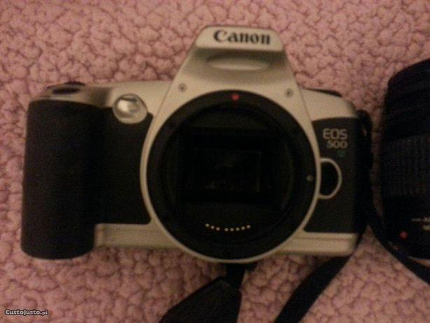 Canon Analogica Canon EOS 500 +1 obj.+ saco