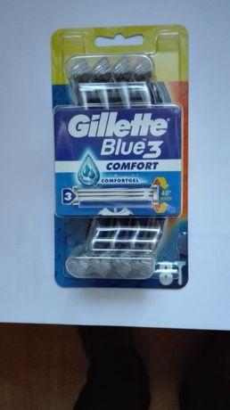 Gillette blue 3 comfort maszynki 8szt