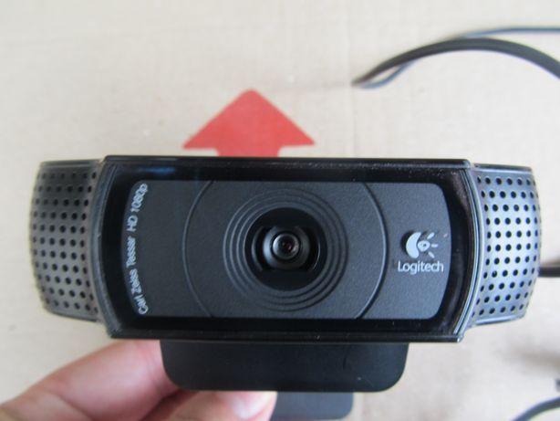 Веб-камера Logitech C920. Оптіка Carl Zeiss. До 1920х1080