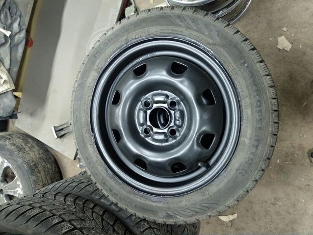 Диски оригинал Hyundai Ланос,Авео,опель 4х100 r14 nokian 155/65