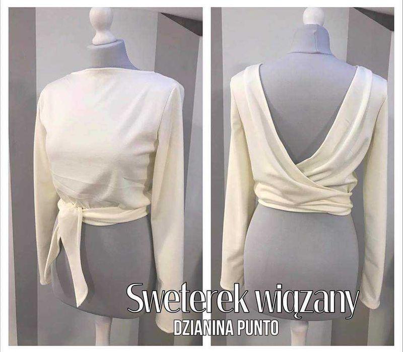 Sweterek wiązany - NOWY Kraków - image 1