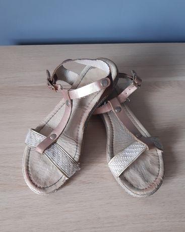 Sandały 37 wkładka 24 cm
