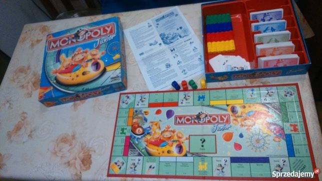 Gra Monopoly Junior EwWro