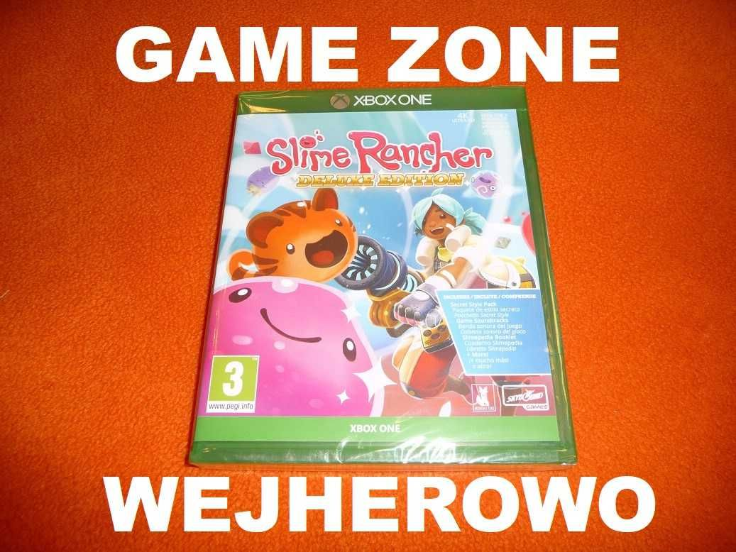 Slime Rancher Deluxe Edition Xbox One + S + X = PŁYTA Wejherowo